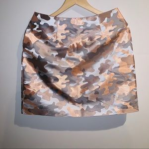 Ted Baker London Lindie Floral Camo Skirt
